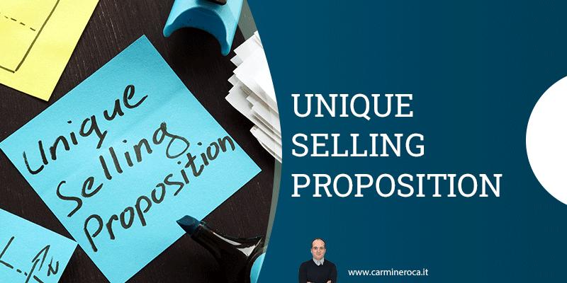 Unique Selling Proposition Definizione