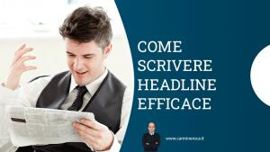 come scrivere headline pubblicità