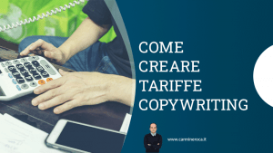 come creare tariffario copywriting