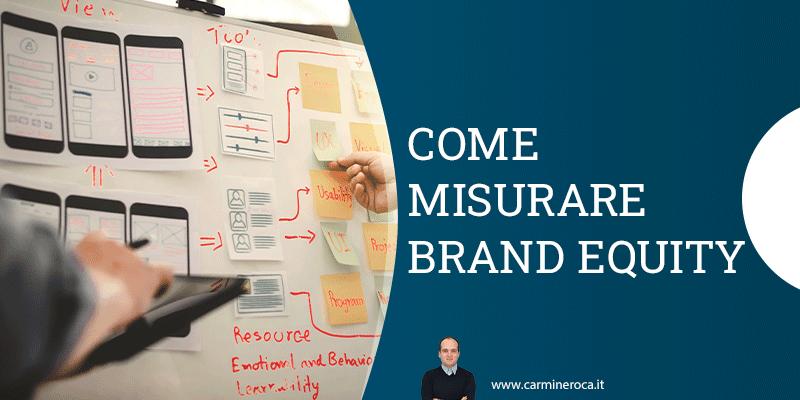 brand equity come misurare