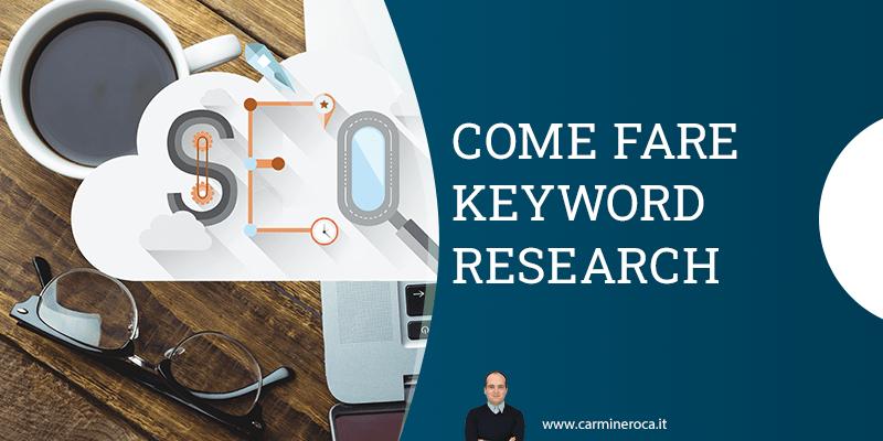 keyword research ricerca parole chiave SEO