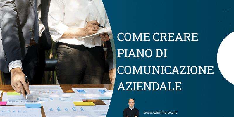 piano di comunicazione aziendale
