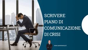 crisis communication piano comunicazione crisi