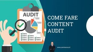 come fare content audit
