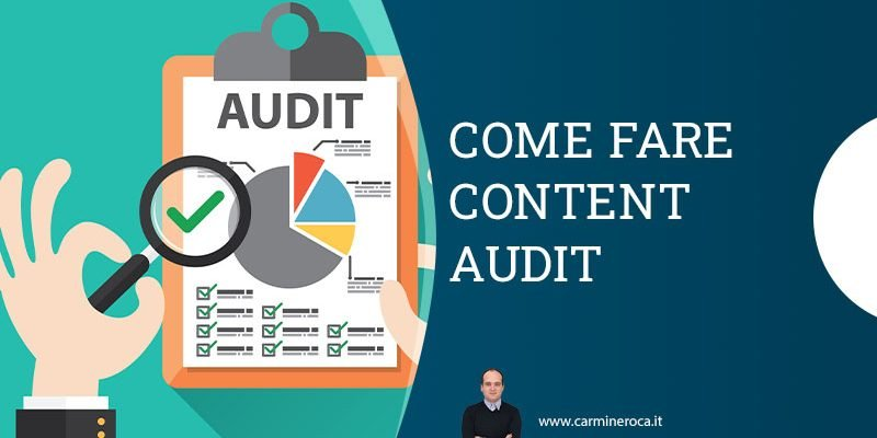 come fare content audit